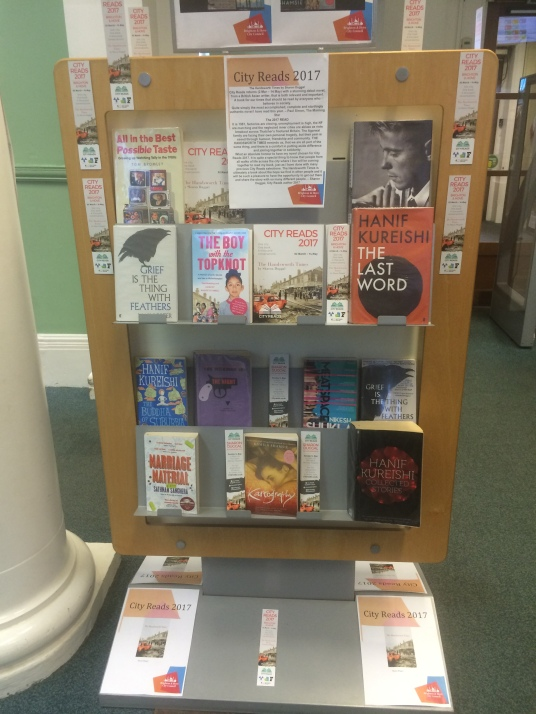 City Reads Display - Hove Library 2017