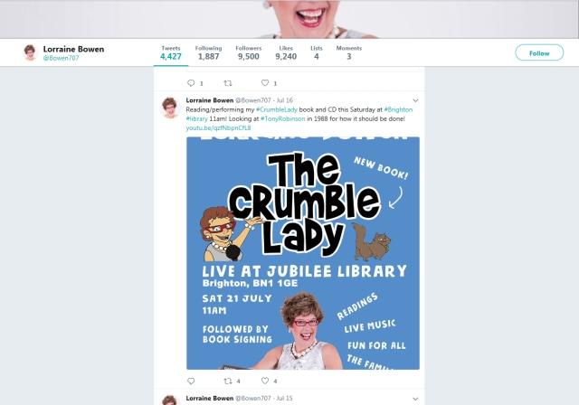lorraine bowen twitter